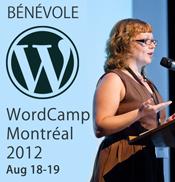 Je fais du bénévolat à WordCamp Montréal