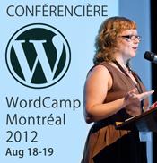 Je présente à WordCamp Montréal