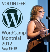 I'm Volunteering at WordCamp Montreal