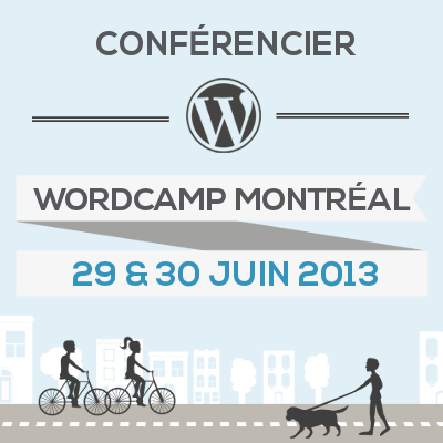Symetris présentera une conférence à WordCamp Montréal - une conférence WordPress