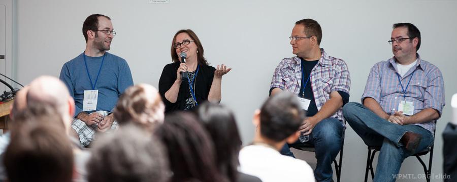 WordCamp panelists